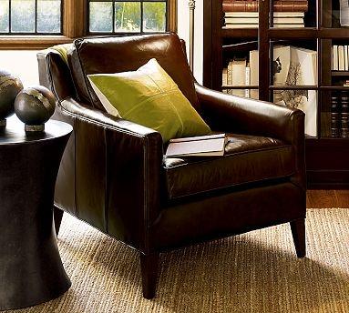 lovely leather armchair.