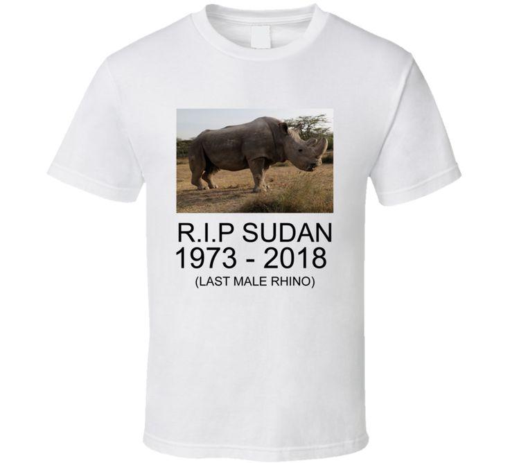 Rip Sudan White Rhino T-shirt