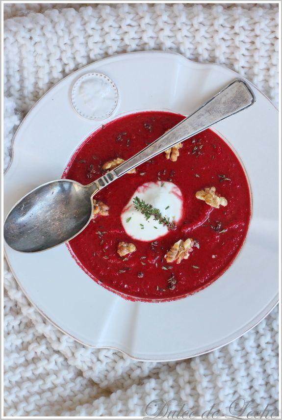 Dulce de Leche: Cviklovo mrkvová polievka s korením Garam Masala