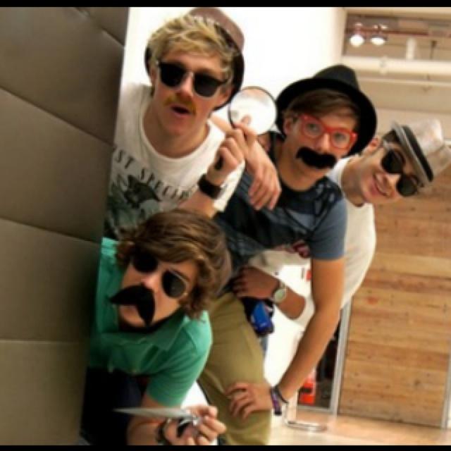 One Direction detection!Ik vind dit echt een grappige foto en one direction is ook mijn idool :D <3