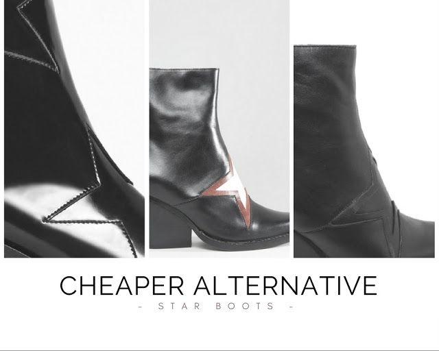 DOMININEWS: Tanie rozwiązanie / Botki kowbojskie w gwiazdy // cheaper alternative to jeffrey campbell gazer star print boots