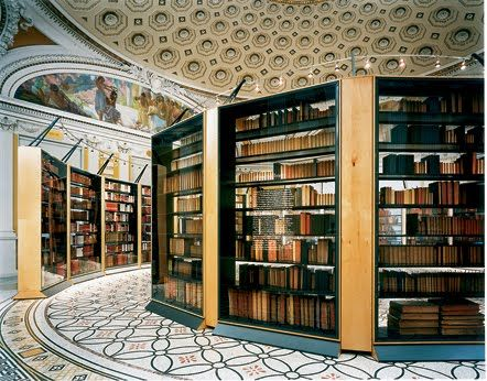 The Ultimate Library and Real National Treasure - Jefferson Library of Congress, USA