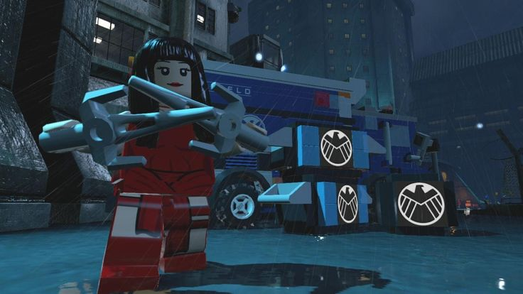 LEGO ELEKTRA!! - New Lego Marvel Video Game Character Images | The Mary Sue