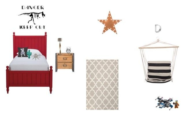 """""""drake gaines room"""" by rachelsollis on Polyvore featuring interior, interiors, interior design, home, home decor, interior decorating, Ethan Allen, One Bella Casa, Pillowfort and Bloomingville"""