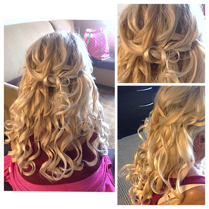 curlsbycole hair stylist bridal party brides hair updo curls blonde braid event special day october - Freelance Hair Stylist