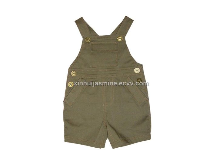 Babt Boy Bib Shorts (VT 26786) - China children's wear, little duck