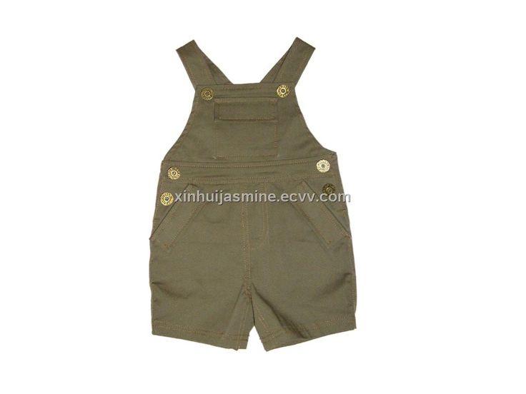 Babt Boy Bib Shorts (VT 26786) - China children's wear, little duck