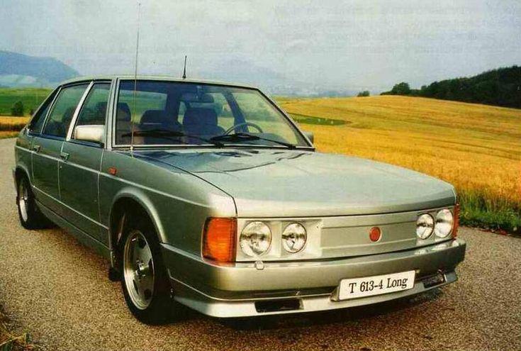 Tatra 613 silver