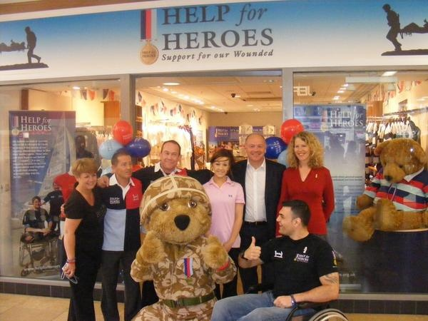 Help for Heroes Pop Up Shop in St David's Centre, Cardiff has opened today! The shop will be selling our fabulous branded merchandise 7 days a week until early next year - if you're in the Cardiff area make sure you pop in to say hi and shop for heroes!  Read more about it at: http://www.helpforheroes.org.uk/shopblog/st-davids-centre-cardiff-help-for-heroes-pop-up-shop/