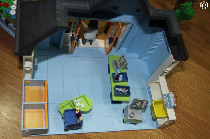 Playmobil clinique veterinaire