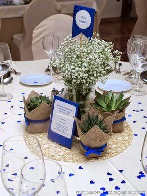 MIMOSORUM : Centros de Mesa con Plantas Naturales - Centerpieces Diy