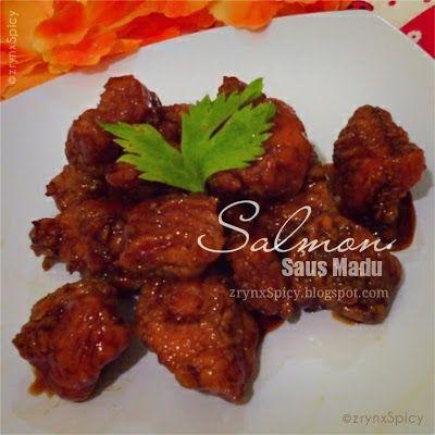 :: SALMON SAUS MADU » zrynxspicy.blogspot.com/2015/04/salmon-saus-madu.html