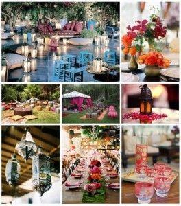 Fiesta de casamiento marroquí!