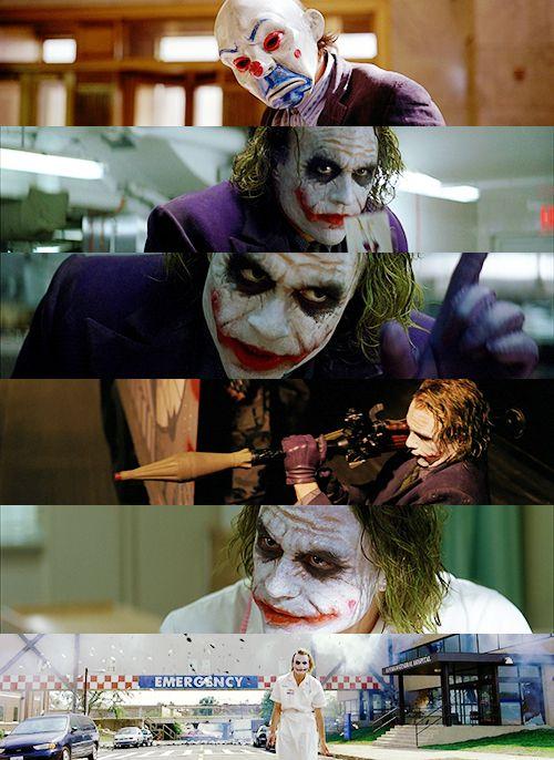 The Joker; Heath Ledger; The Dark Knight