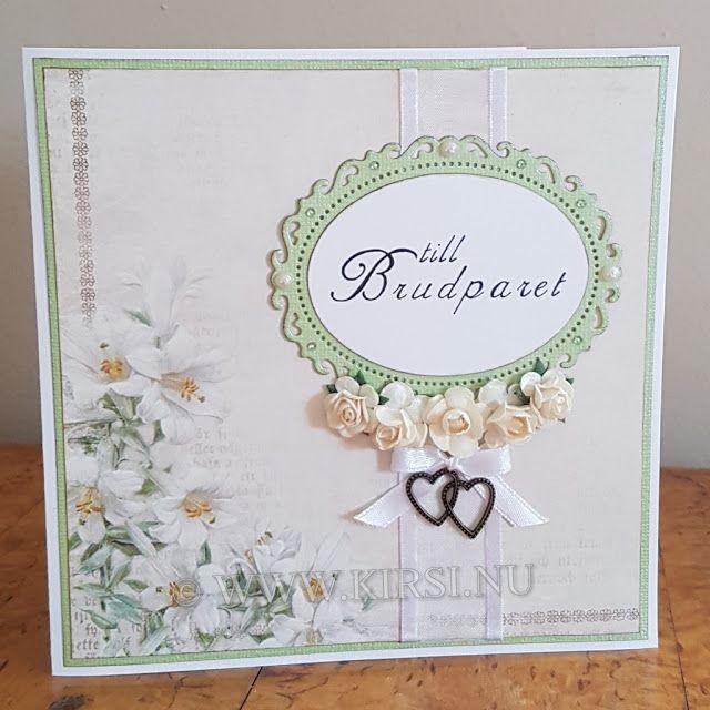 Kirsi: Linn & Fredriks Bröllopskort - Wedding card.Sommar...