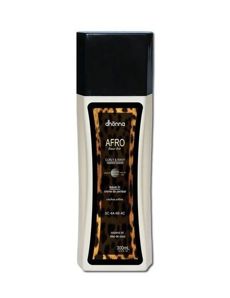LEAVE IN AFRO CACHOS SOLTOS DHONNA (3C, 4A, 4B, 4C) 300ml - Meu Cabelo Natural