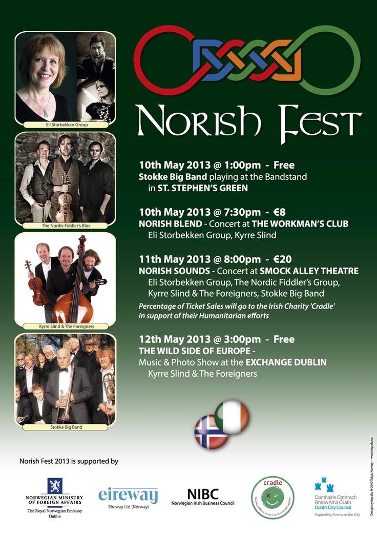 Norish Fest 2013 Poster