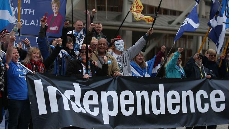 Unabhängigkeit von Großbritannien: Schottisches Parlament stimmt für zweite Volksbefragung