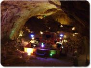 Grand Canyon Caverns Inn- you can stay actually inside the cave in their Cavern Suite. Such a cool idea!