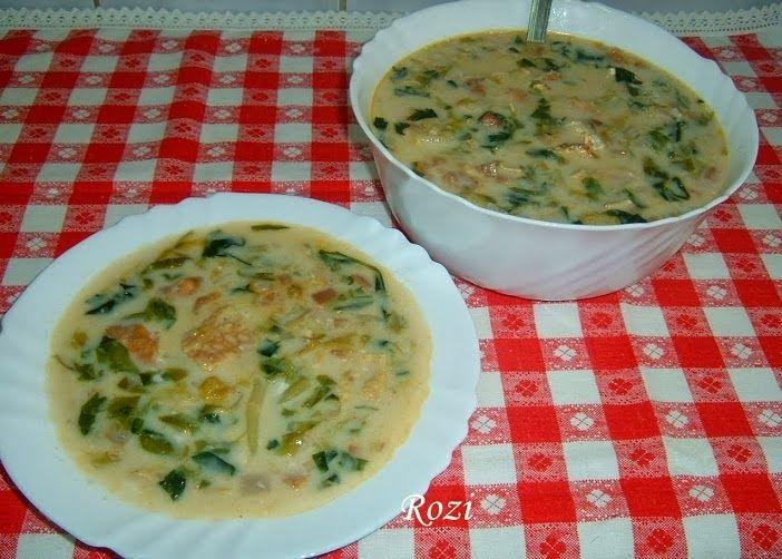 Rozi erdélyi,székely konyhája: Saláta leves