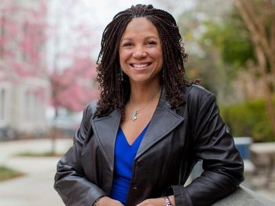 Melissa Harris Perry, professor and host of the Melissa Harris Perry show on MSNBC.