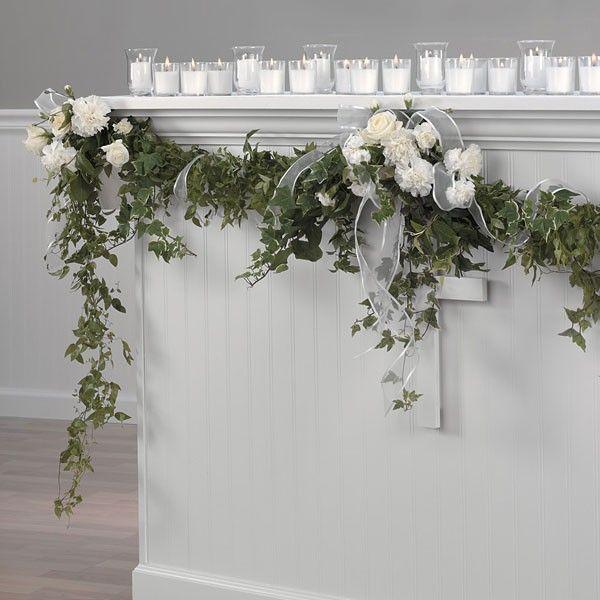 Altarpiece Wedding: English Ivy For Wedding