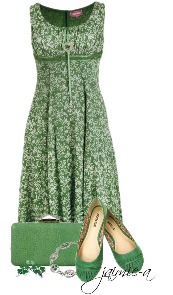 """""""Floral Print Dress"""" by jaimie-a on Polyvore"""