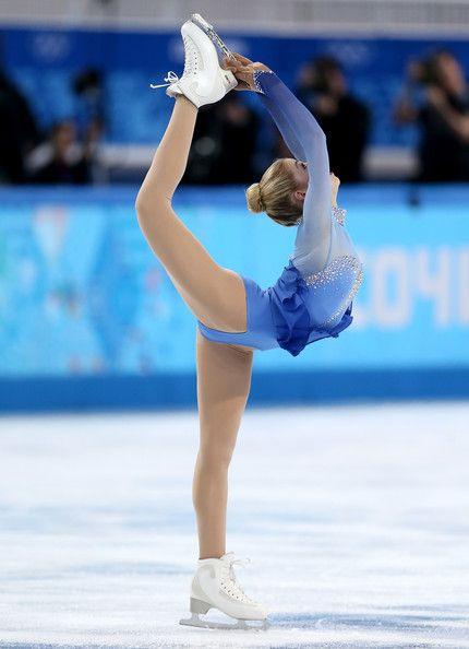 Gracie Gold, une exellente patineuse américaine.