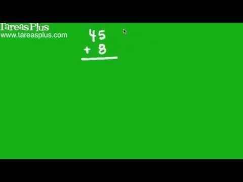 Algoritmo de la suma para números de más de una cifra
