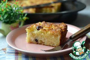 """Творожный пирог """"Чистые ручки"""" Источник: http://www.povarenok.ru/recipes/show/138755/"""