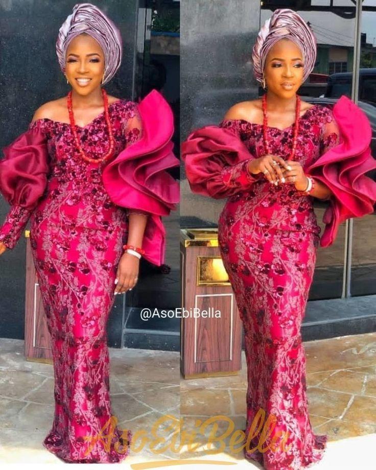 latest aso ebi styles 2019 from Diyanu Women Fashion   Women Life