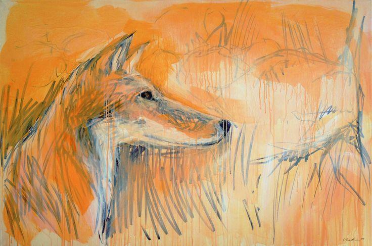 150x100 / acryl on canvas / 2014 / sold