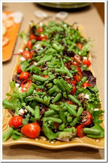 Green Bean Salad - that's WAY too plain a name for this sucker!  It look divine!