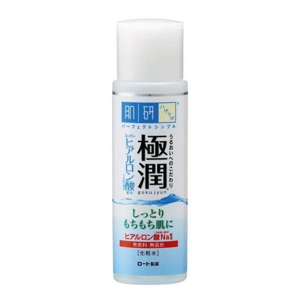 *[HADA LABO] SUPER HYALURONIC ACID FACE HYDRATING MOISTURIZING LOTION* *gokujyun - peles normais a secas* A Loção facial No.1 no Japão 1 Vendido a cada 2 segundos no Japão *Conteúdo* 170 ml (embalagem grande) *Descrição:* Com 3 tipos de ác...