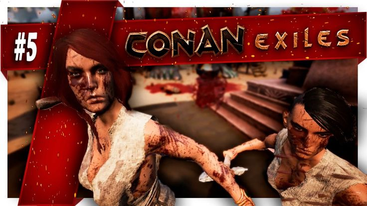 Conan Exiles  | Part 5 |  THE FIGHT AGAINST THE CANNIBALS !!!