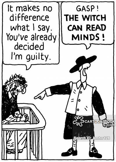 Witch Trial cartoon 10 of 13