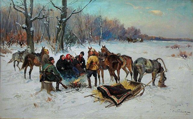 Czesław Wasilewski: Przy ognisku