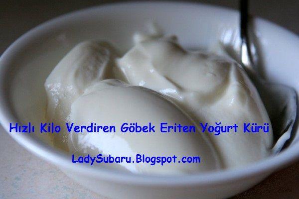 Yoğurt Kürü Zayıflamak Göbek Eritmek İçin %100 Doğal Yöntem! - Lady Subaru