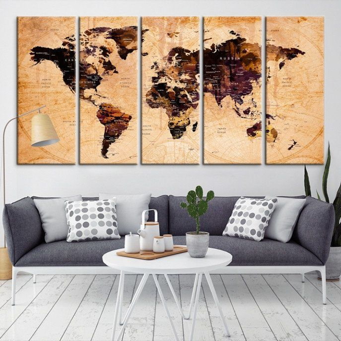 The 25 best world map canvas ideas on pinterest map canvas the 25 best world map canvas ideas on pinterest map canvas world map pin and world map mural gumiabroncs Choice Image