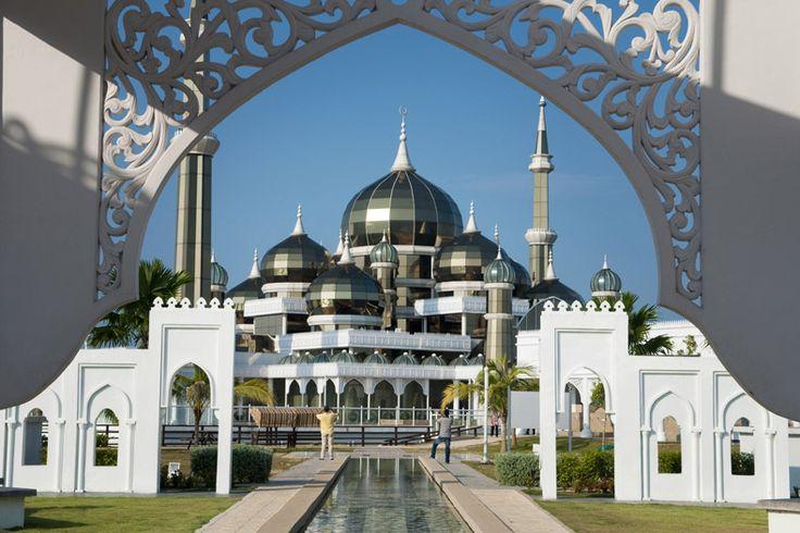 La Mosquée de Cristal en Malaisie