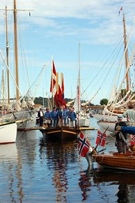 The Wooden Boat Festival in Risør attracts hundreds of wooden boats each year - Photo: Kamilla Solheim