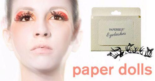paper eyelashesMarvel Makeup, Paperself Eyelashes, Paper Eyelashesamaz, Paperlash