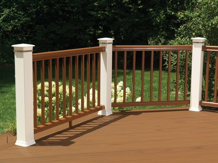 two tone deck stain pictures outdoor living february 2011 railing designdeck