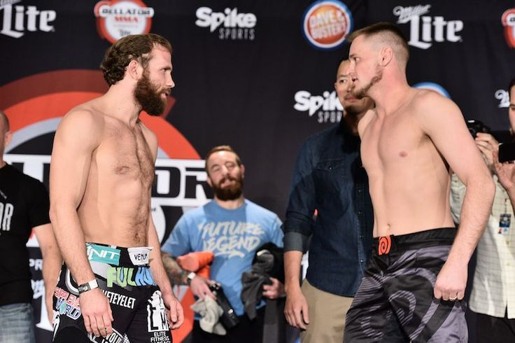 @bellatormma Lightweight Co-Main Event. Kansas own #DaveRickels @thecaveman316 (17-4 2 NC) returns to the #Bellator MMA cage to take on #AaronDerrow @aaronderrow(14-8). #bellator171 goes down from #KansasStarArena in Mulvane Kansas. Tonight LIVE on SPIKE at 9 p.m. ET/8 p.m. CT. @bellatormma #Bellator #MMA #mixedmartialarts #BellatorMMA #SpikeTV #PhillipsvsMcKee #NjokuanivsGuillard #ScottCoker #MLMMA #mustlovemma #SusanCingari #combatsports #boxing #kickboxing #BJJ #WMMA #wrestling…