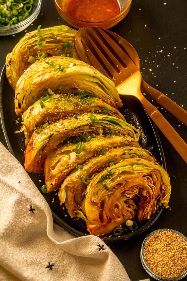 Grilled Cabbage Wedges with a Korean Glaze Hero Image
