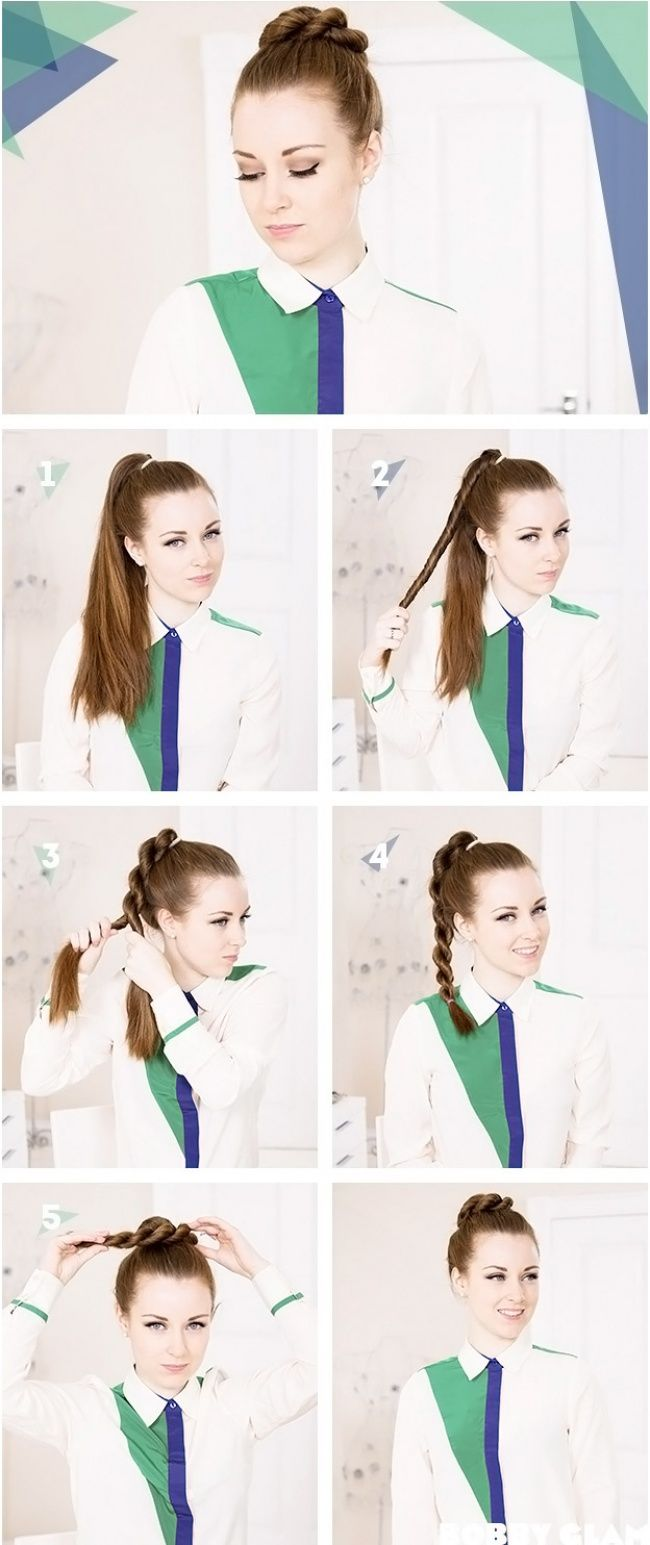 10 easy hairstyles in 5 minutes - @beaucimapi1983