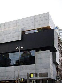 Zaha Hadid - Contemporary Arts Center, Hadid's first American work in Cincinnati, Ohio