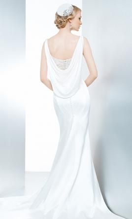 Matthew Christopher Lunette wedding dress currently for sale at 47% off retail.