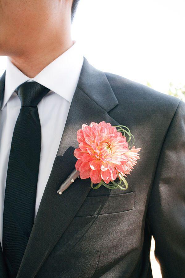 Dear future husband, you will wear a dark gray suit when we get married.