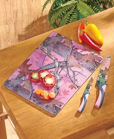Camouflage Cutlery Sets or Cutting Boards